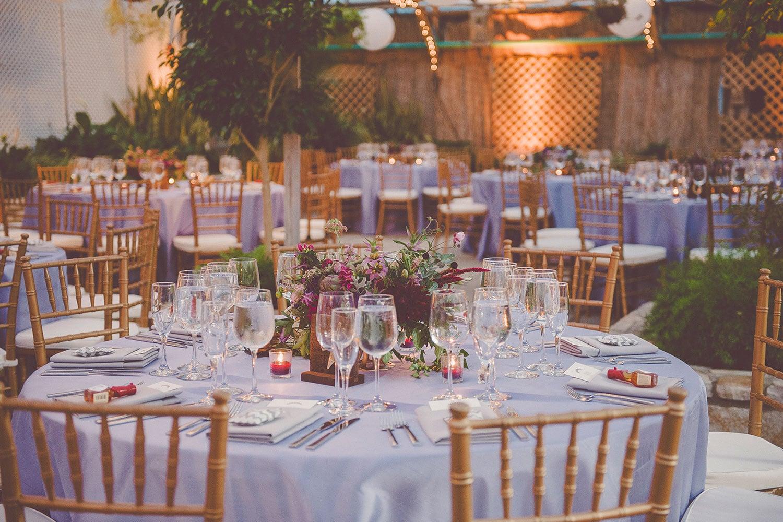 Summer wedding in Philadelphia at the Fairmount Horticultural Center with purple accents | Wedding Plannner: Heart & Dash | Photo: Sharyn Frankel Photography | Wedding flowers: Love n' Fresh