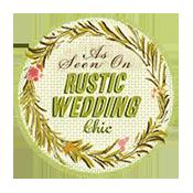 A cozy plaid chambray wedding