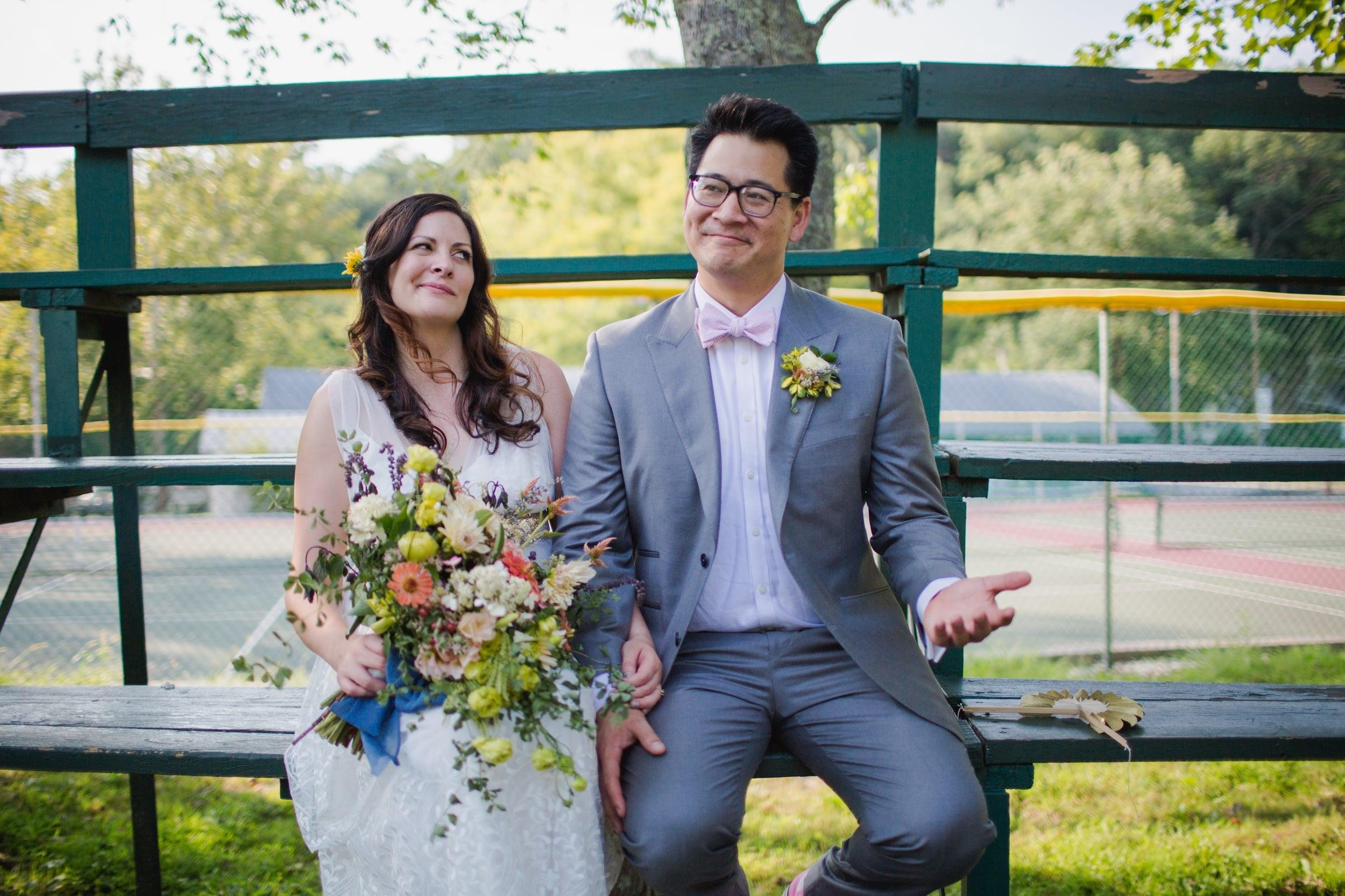Fun Wedding at Camp Green Lane in Pocono Pennsylvania :: Heart & Dash :: Jessica Osber Photography