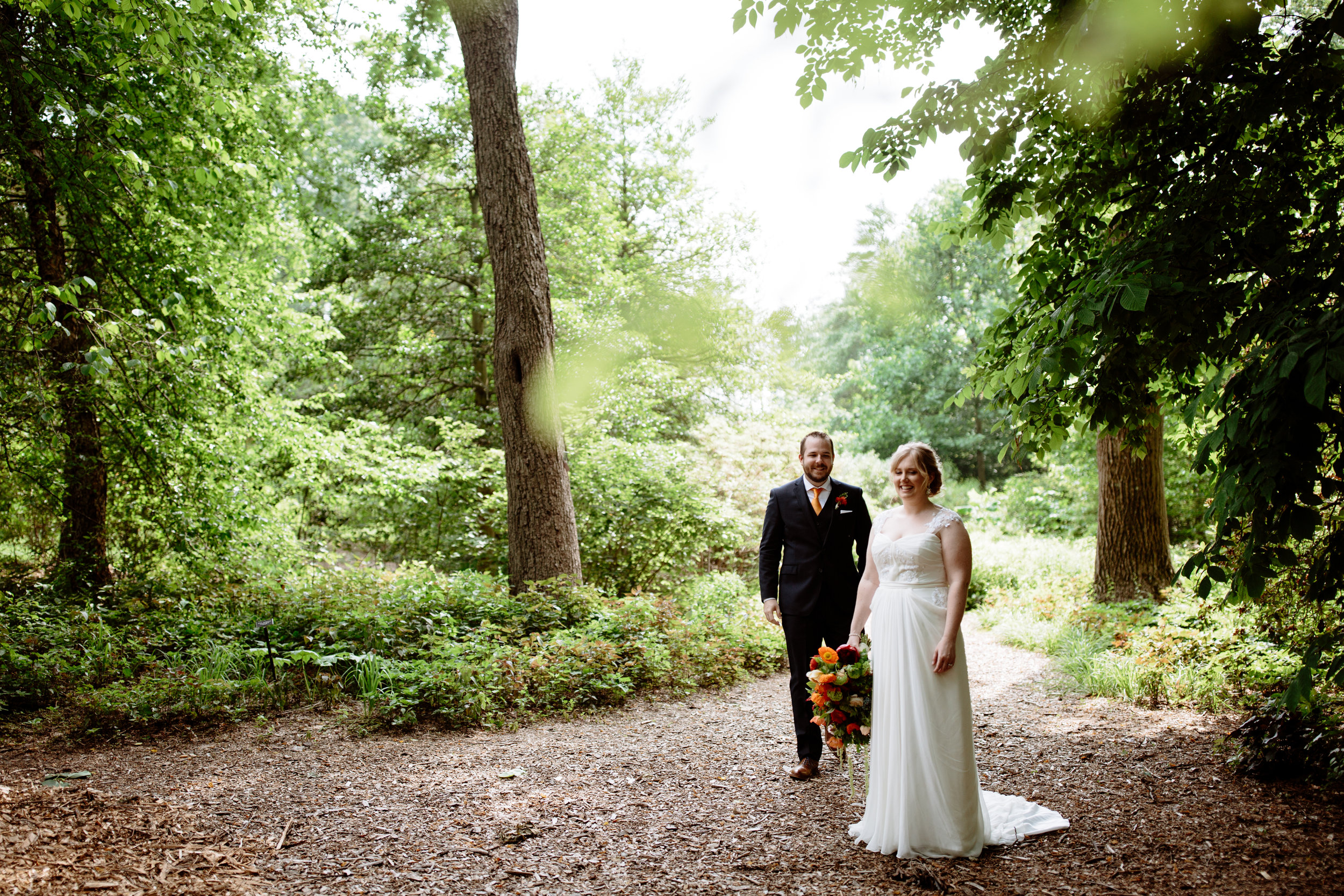 Pennsylvania wedding at Tyler Arboretum with a bold color palette - Wedding Planner Philadelphia Heart & Dash-155.jpg