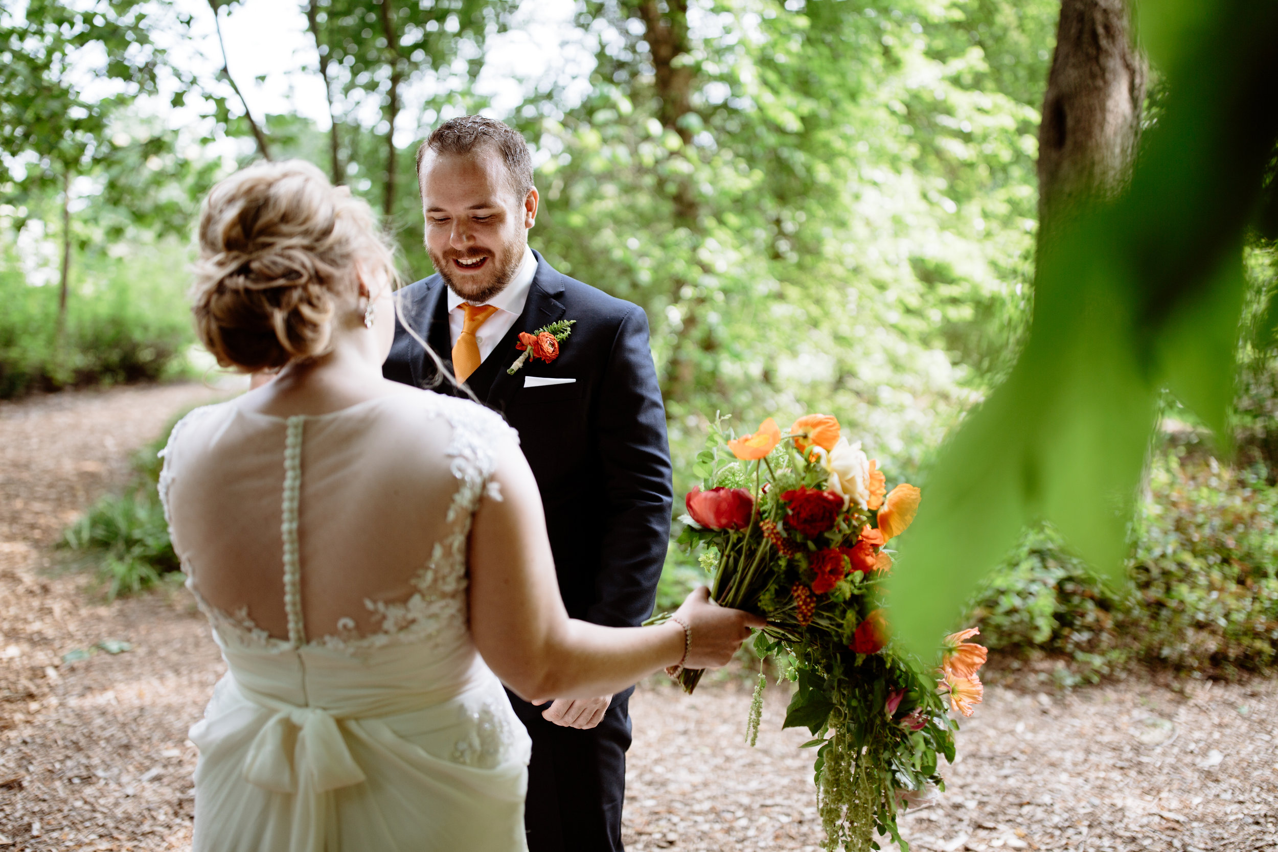 Pennsylvania wedding at Tyler Arboretum with a bold color palette - Wedding Planner Philadelphia Heart & Dash-161.jpg