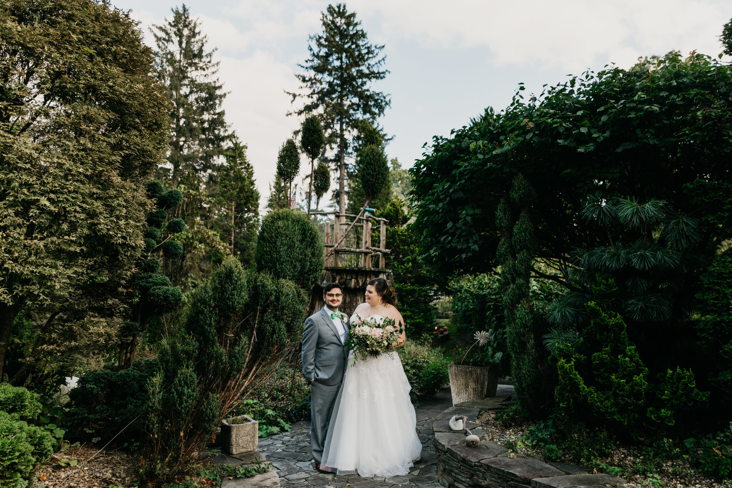 Ambler Pennsylvania wedding on private property with wedding designer Heart & Dash