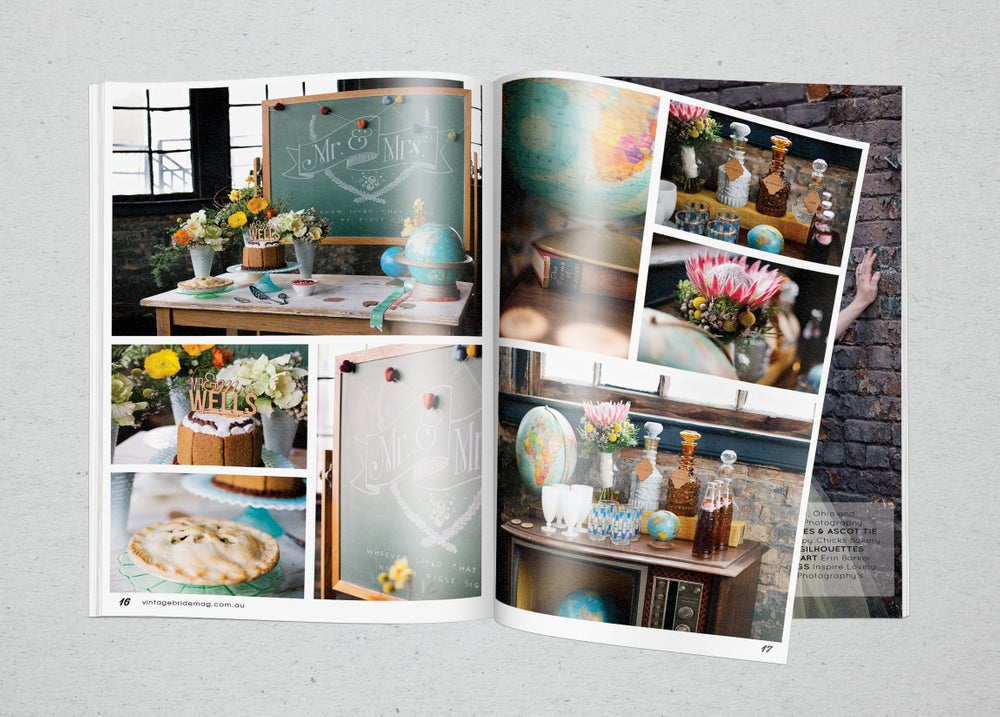 Vintage Bride Magazine - December 2014