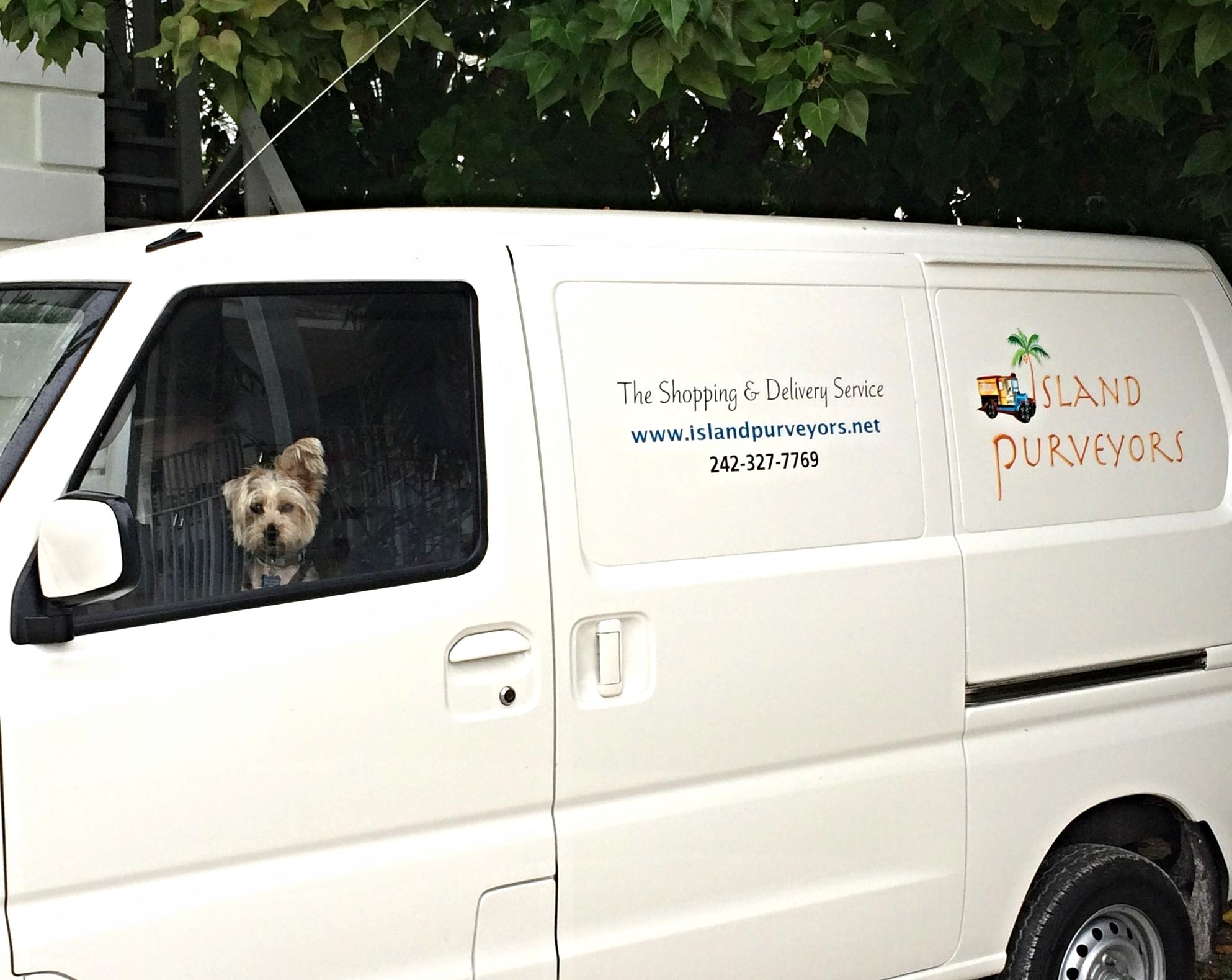 Even da Boss makes Deliveries!