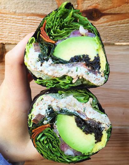The Sea Wrap from Lifefood Organic