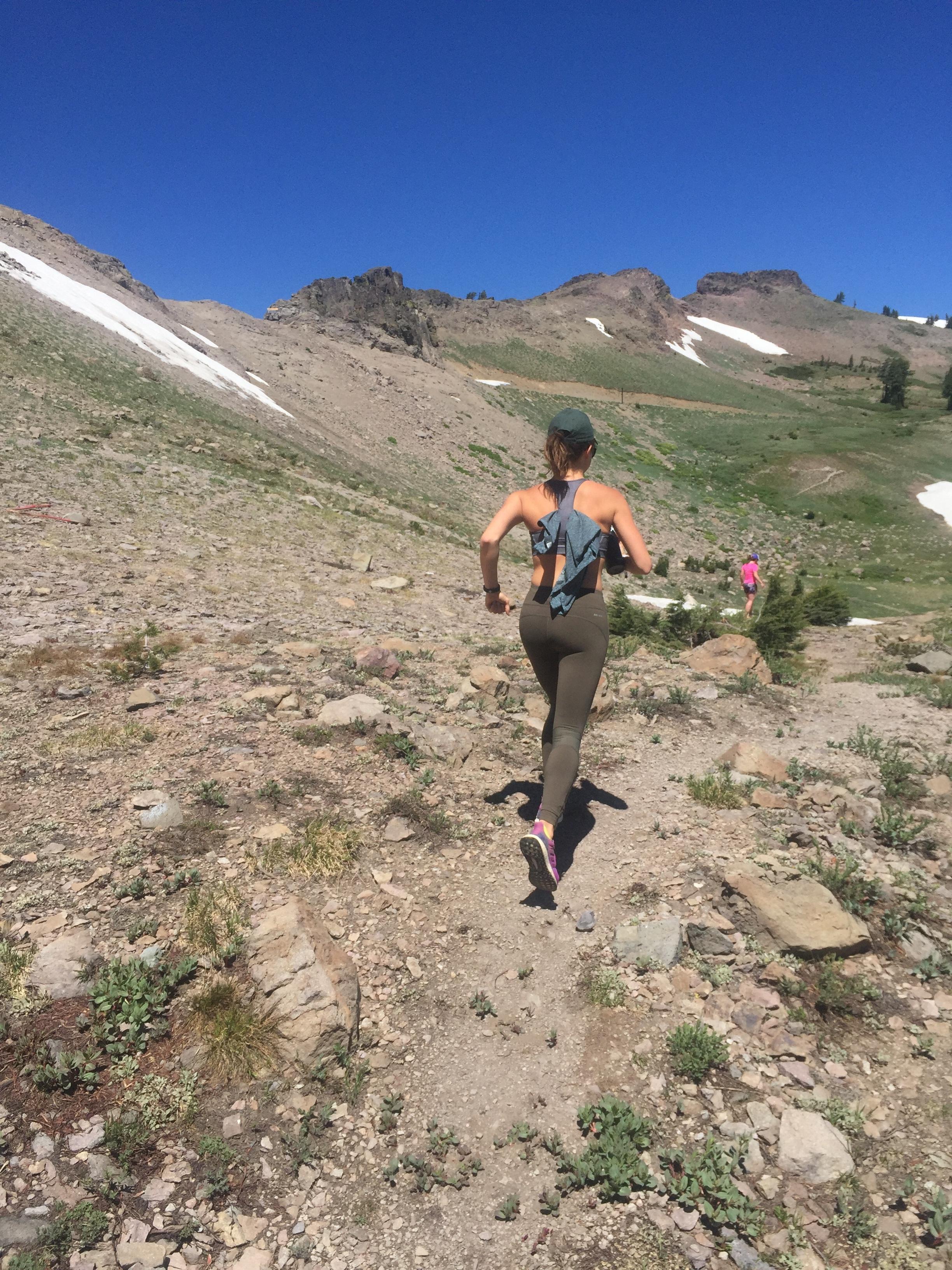 Running through valleys in Lake Tahoe this summer.