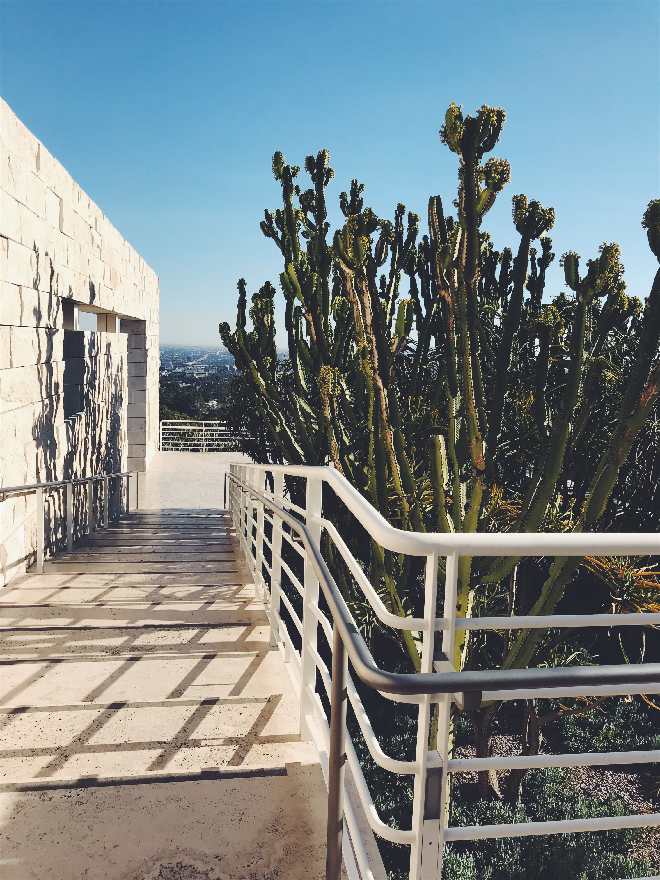 The Getty grounds