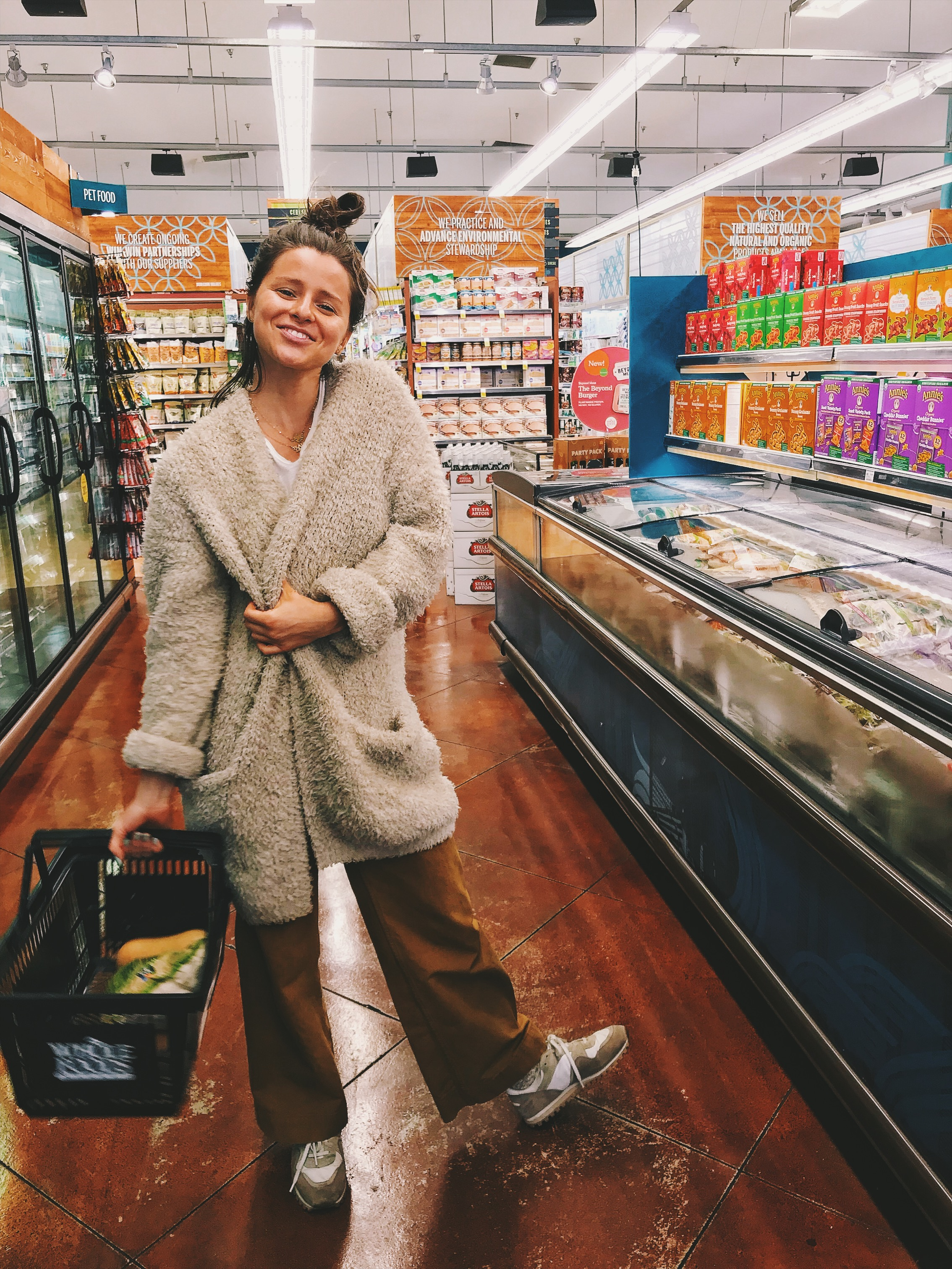 In my happy place, AKA, the frozen foods aisle.