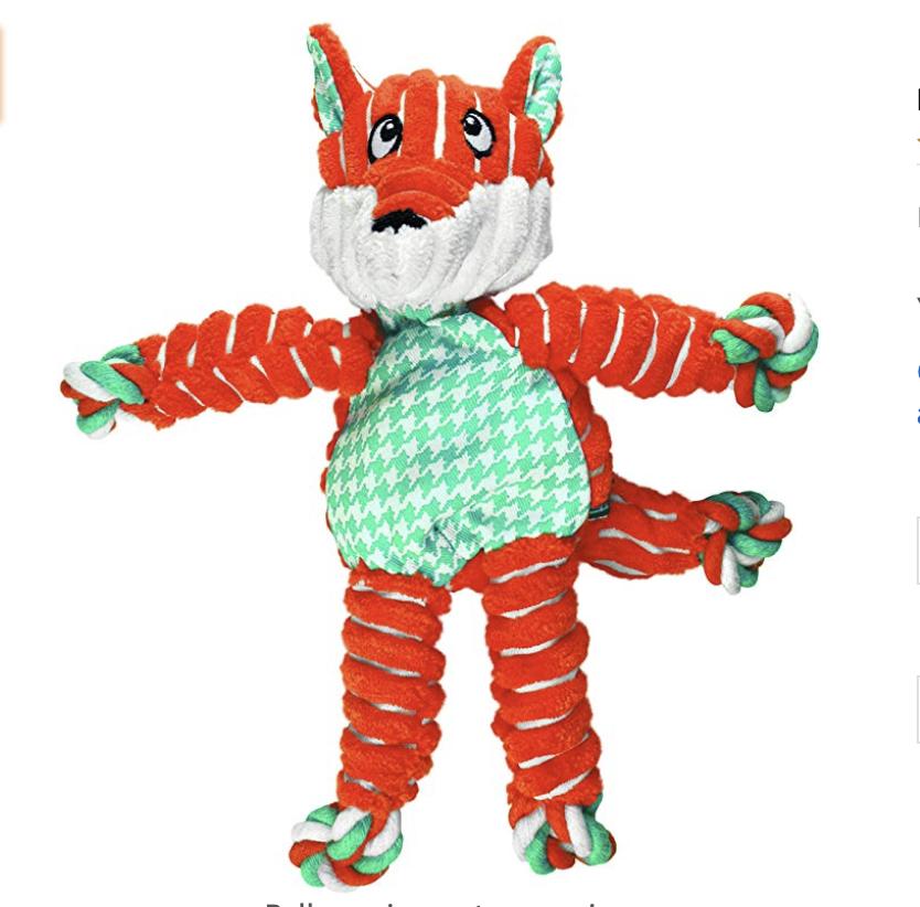 Kong Fox Toy
