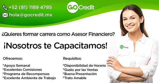 Te estamos esperando!!! 👍🙌 #GoCredit #vacontigo