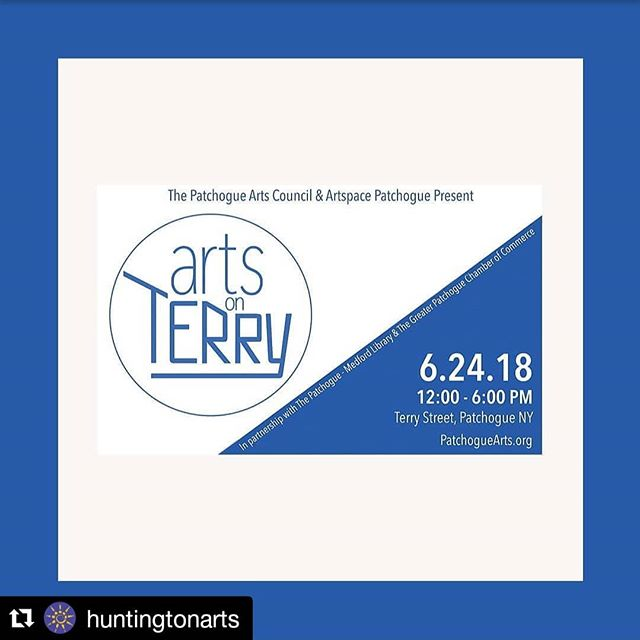 I'll be at Arts on Terry this weekend. Come by  to see Marc, Emily and I and hear about what @huntingtonarts  has coming up. #Regram @huntingtonarts ・・・ The @patchoguearts Council is excited to announce the Third Annual Arts on Terry (Street) Festival on June 24, 12-6pm. Visit #HAC's popup gallery at the free festival in Patchogue to view work from #HuntingtonArts members and learn more about what we do! Arts on Terry is a contemporary art fair for all ages highlighting more than 200 artists from a variety of Long Island organizations. It also includes a full day of art demonstrations, family- friendly activities, live music, poetry, and performances. HAC will be featuring the work of Constance Sloggatt Wolf @c_sloggatt_wolf, Jaques LeBlanc @jacquesleblancphotography, and Jessica Bernstein-Liu @jbldesigns . . .  #PatchogueArtsCouncil #PatchogueArts #ArtsonTerry #AOT18 #PAC #EPU #EPluribusUnum #artexhibitions #longislandfeatures #exploreliny #longislandart #longislandartists #longislandphotographers #liveart #performance #livemusic