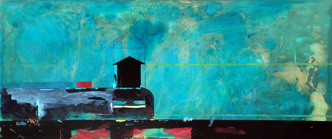 Bunker - stability, 2000-2008, 36 x 84 inches