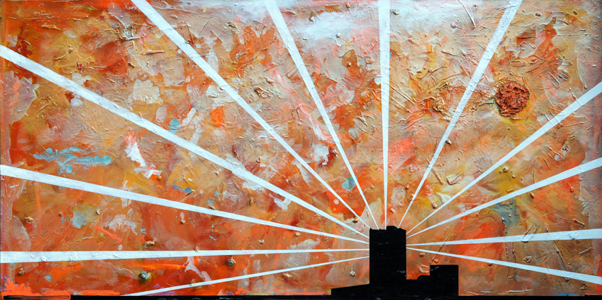 Searching for Angels Oil on Canvas  48 by 96 inches.jpg