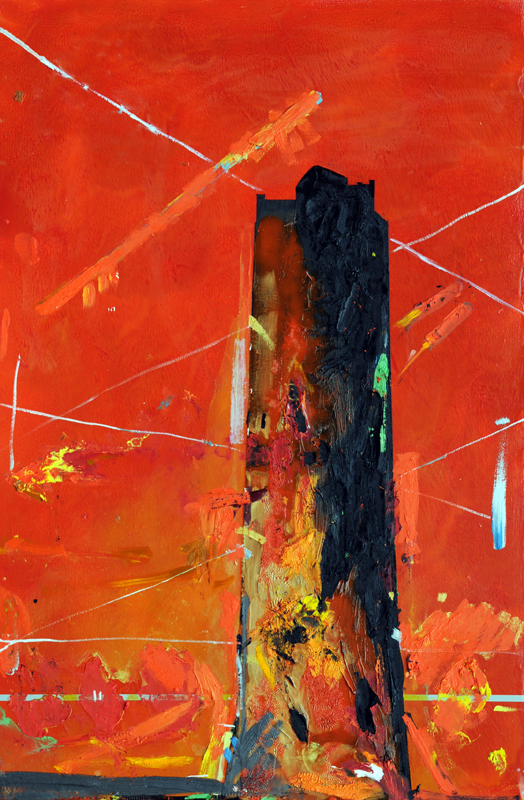 Tower  2007-2008  Oil on Canvas on Panel  47 by 31 inches.jpg