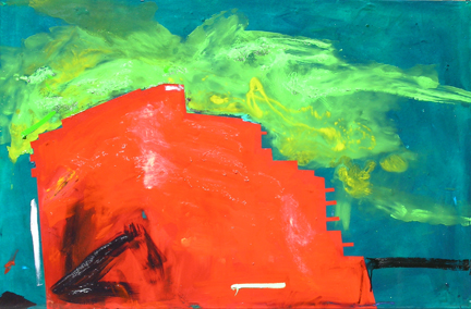 Residences, 2007, 30.5 x 46.6 inches, Private Collection