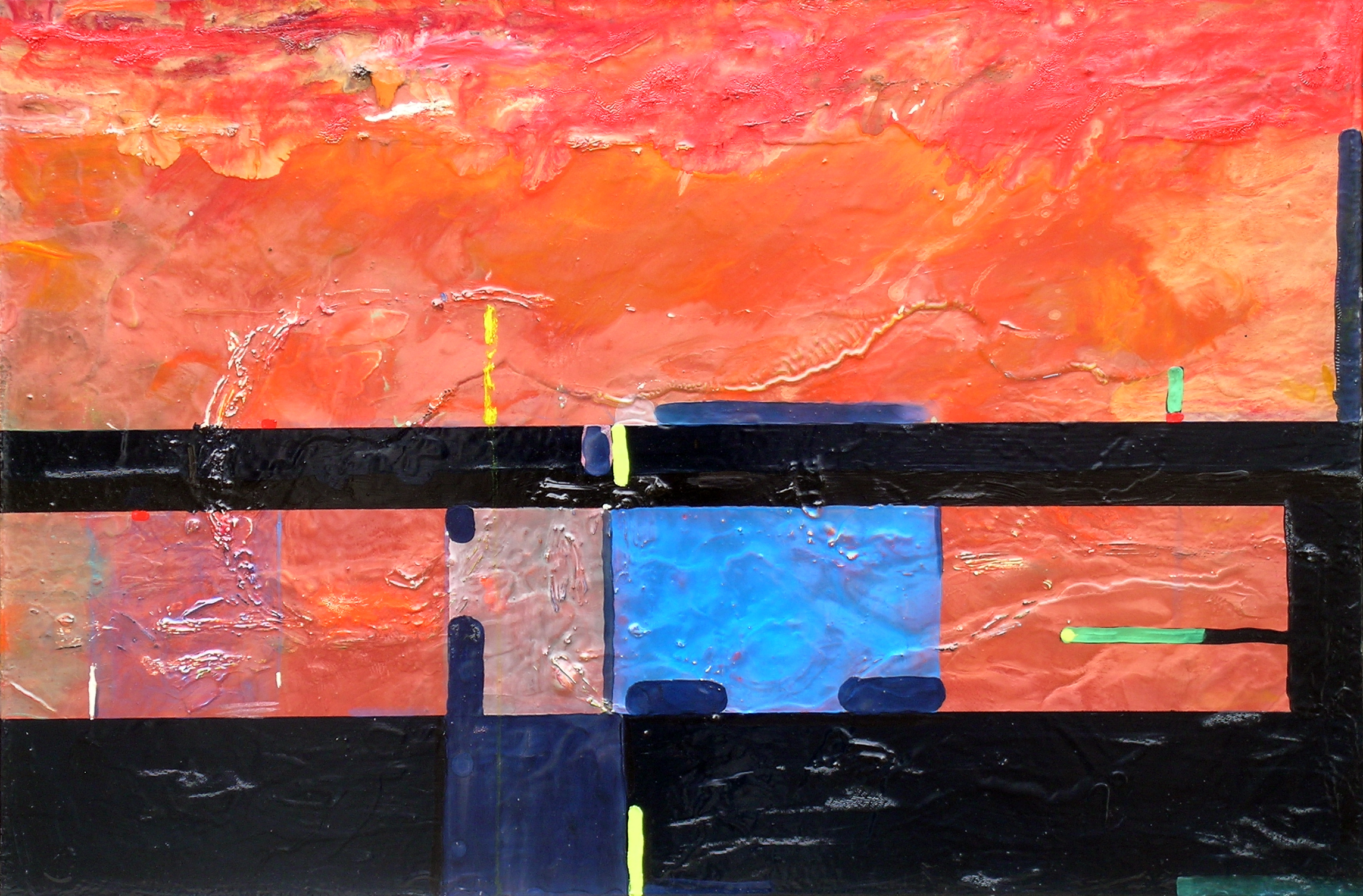 Bunker View, 2008, 24 x 36 inches