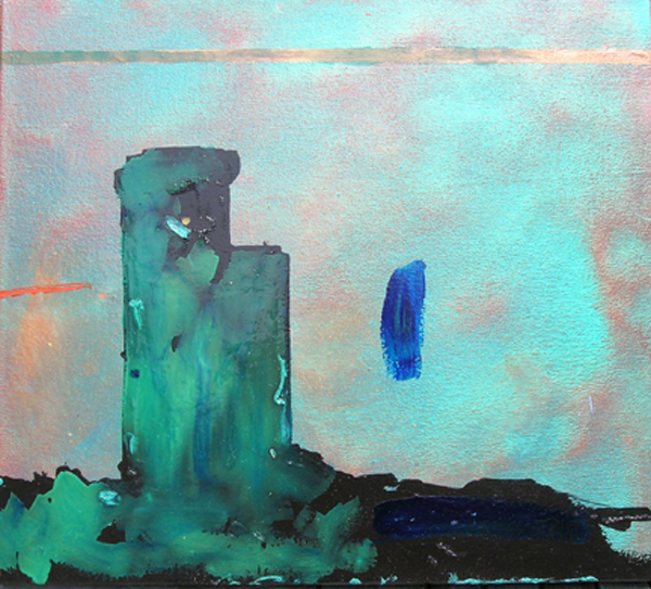 Towers, 2007, 20 x 22 inches
