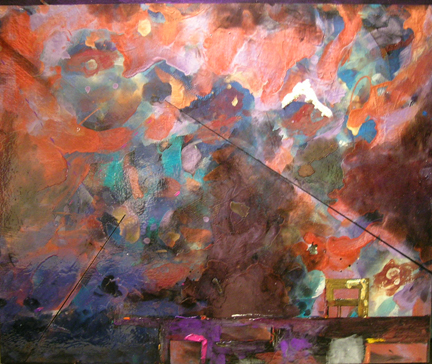 Starscape Bunker, 2008, 30 x 36 inches