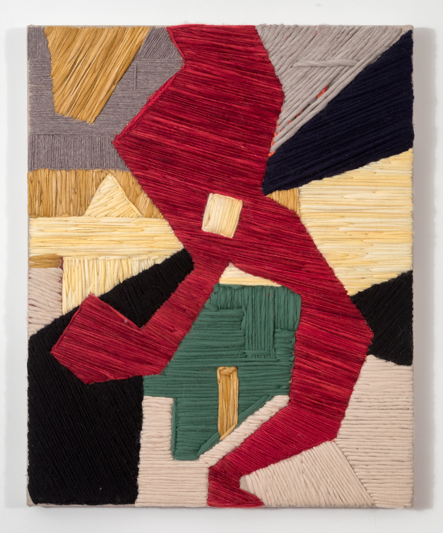 System 14 2017 Wool and Linen on Wood Stretcher 30 x 24 inches