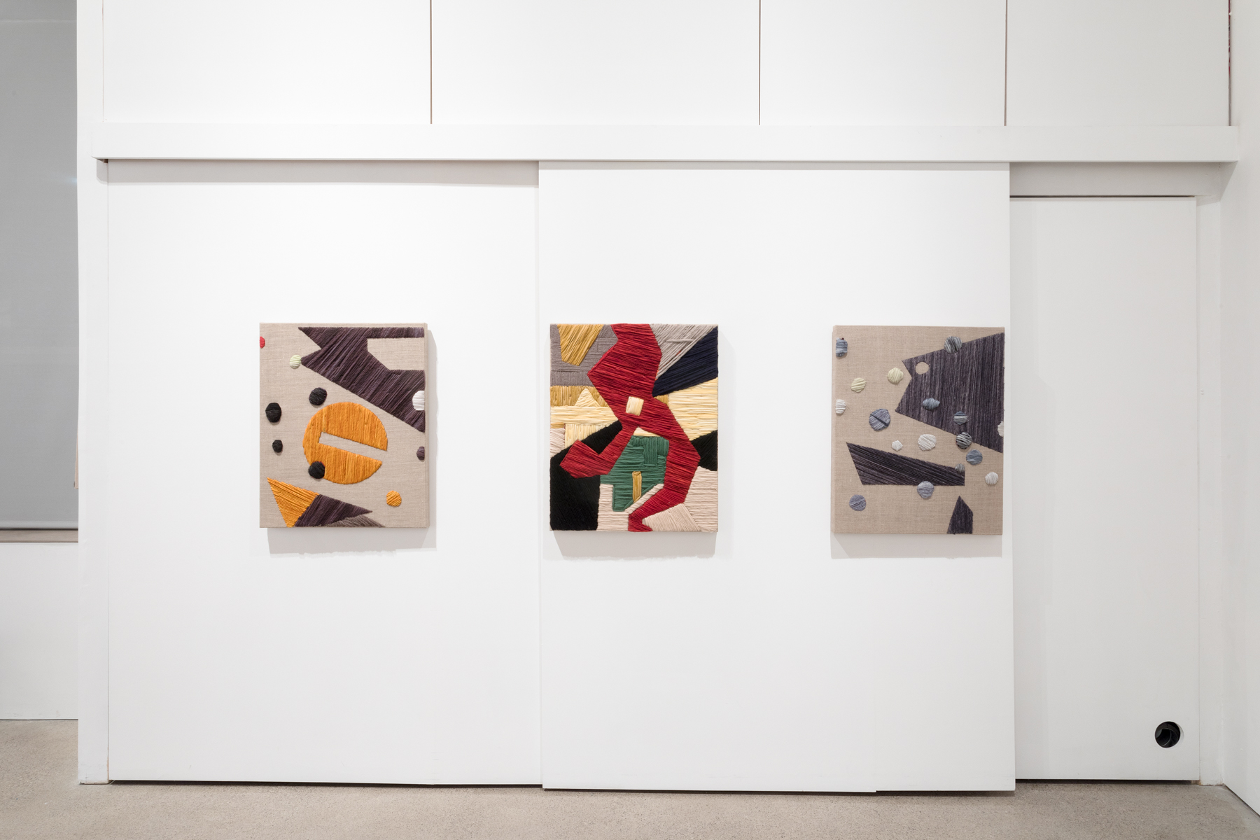 Installation view of System One at United Contemporary Gallery, Toronto, Canada, December 2018