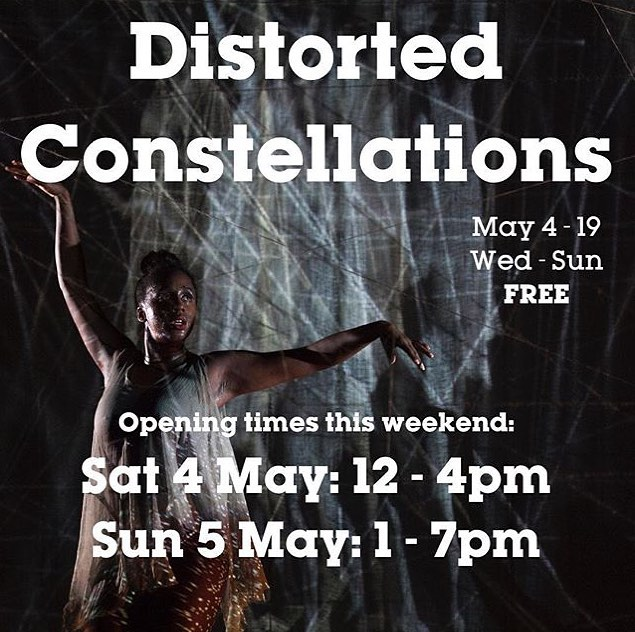 Distorted Constellations opens tomorrow at @lighthouse_btn! . . . . . . #afrofuturistic #brightonfestival #lighthouse #interactive #immersive #neurodivergence #contemporaryart #visual #visualart #music #ritual #science #visualsnow #diaspora #accessible #accessibility