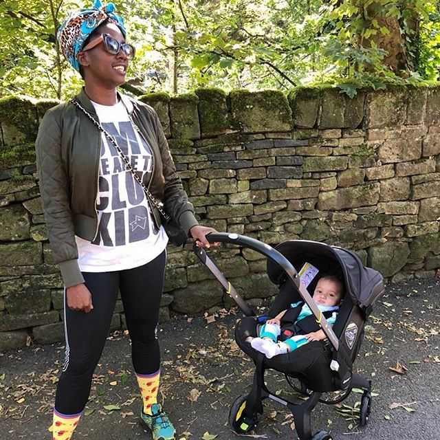 Fam 2 Doing the daily walk with my nephew Lifestyle - trying to keep it chill