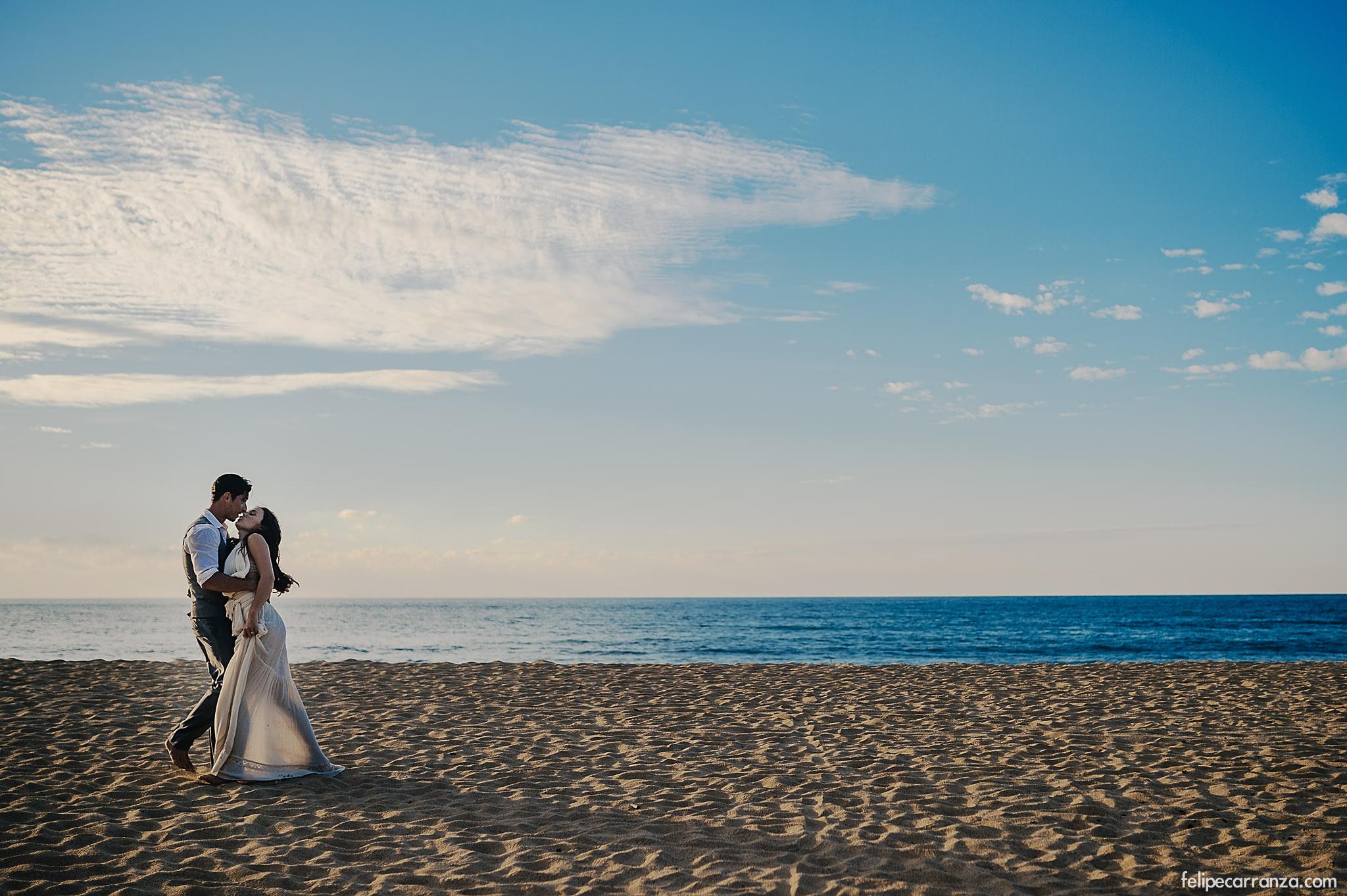 couple on the beach australia