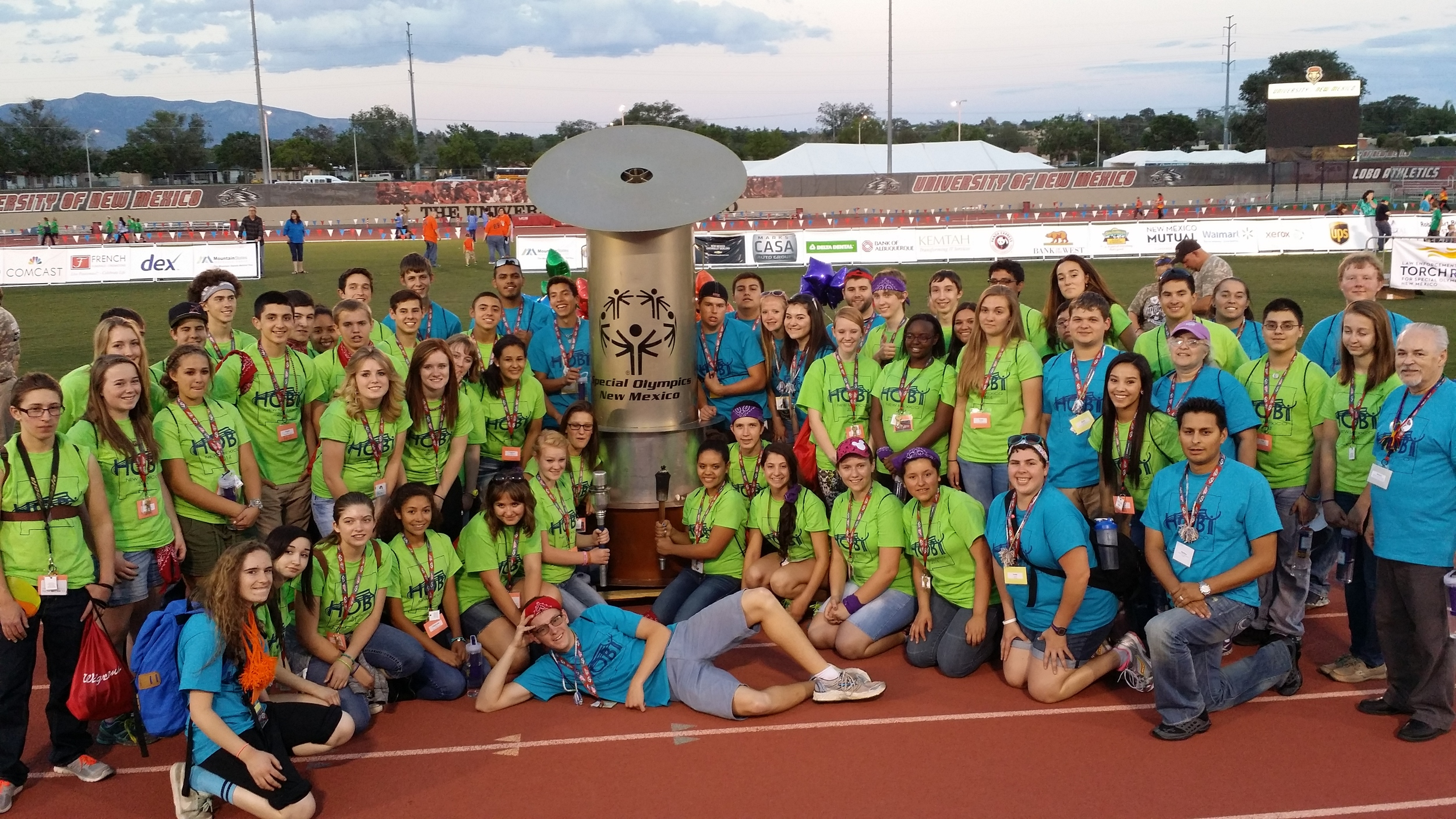 2014 HOBY New Mexico L4S - Special Olympics