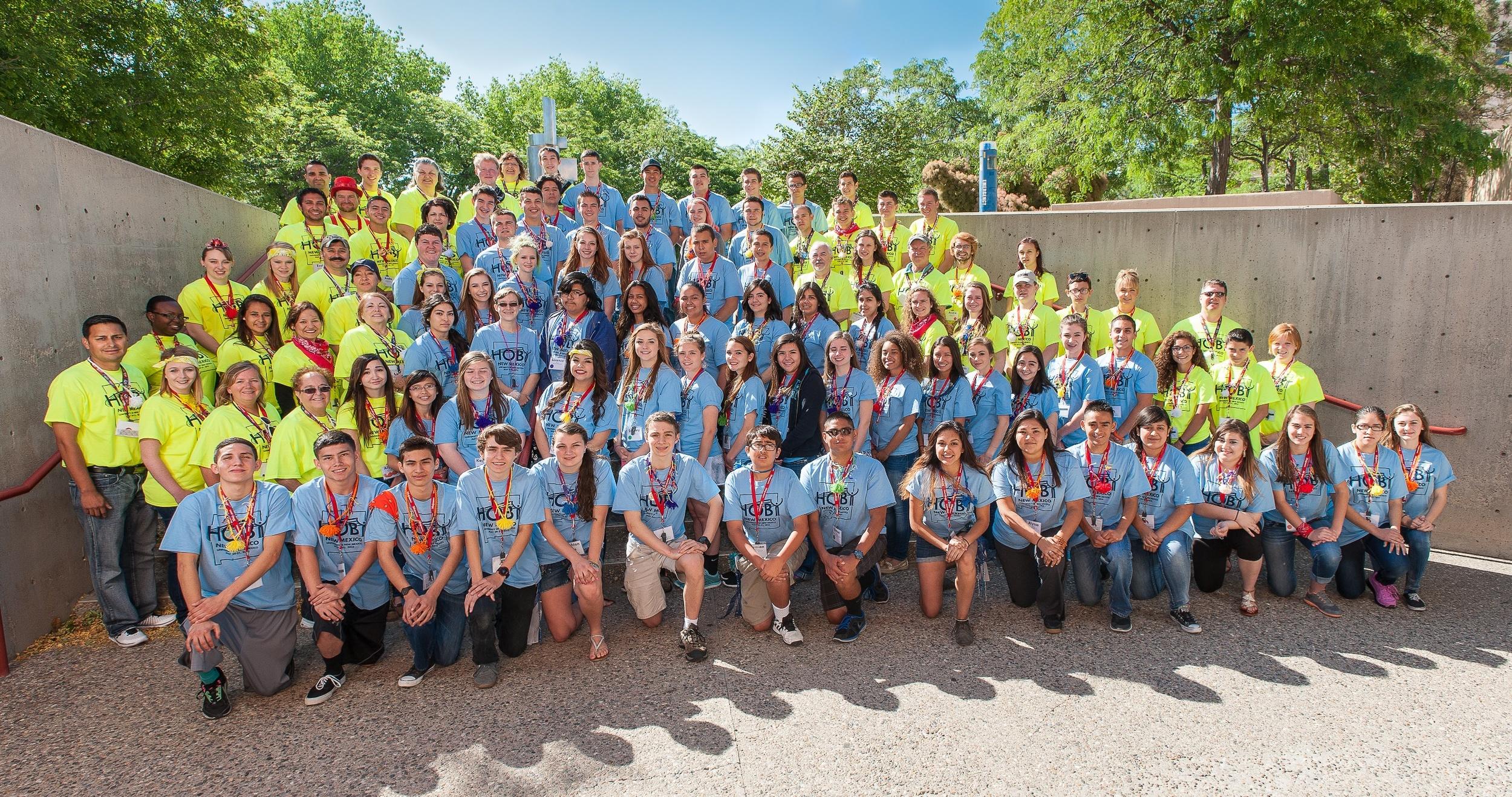 2015 HOBY New Mexico Leadership Seminar