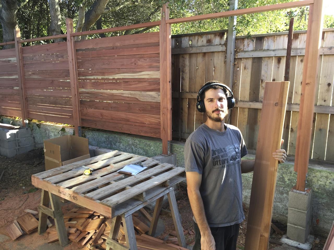 Sawyer / Lumber stacker extraordinaire: Ted De Gros