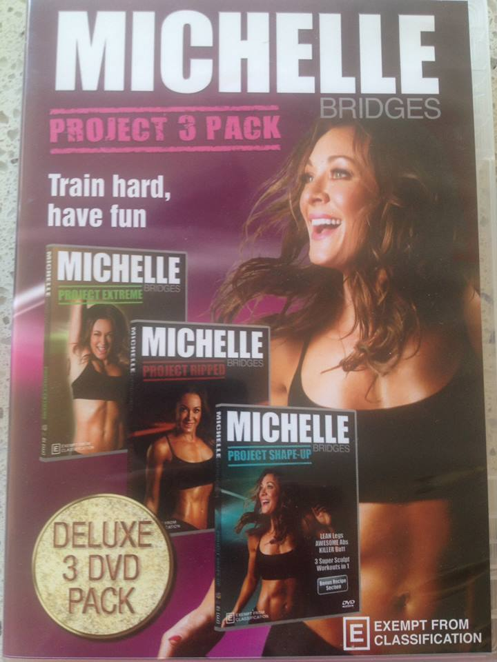 I can thoroughly recommend any Michelle Bridges workout to help you stay in shape