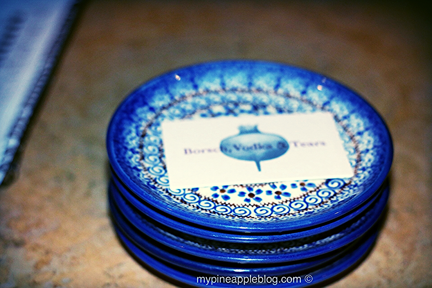 Beautiful plates imported from Poland