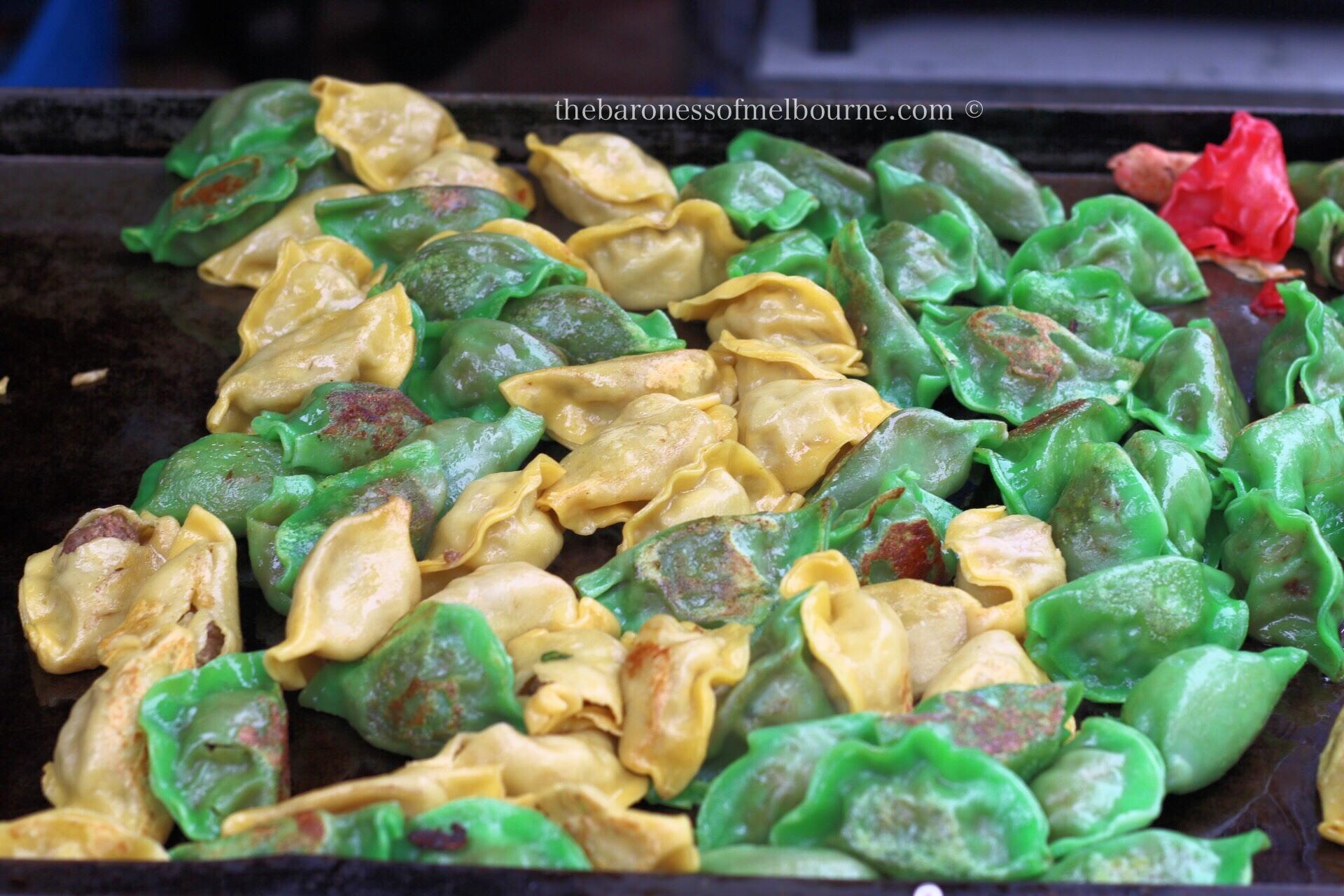 Pan fried dumplings from Ant's Dumplings
