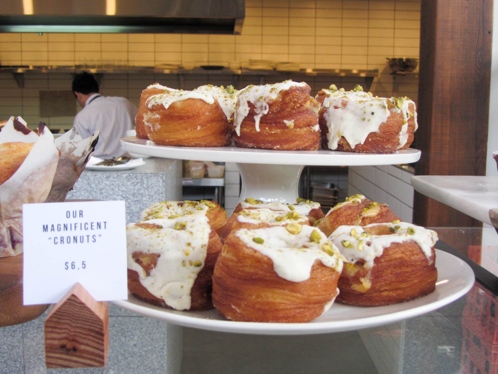 The Cronut - a merging of a croissant and a donut