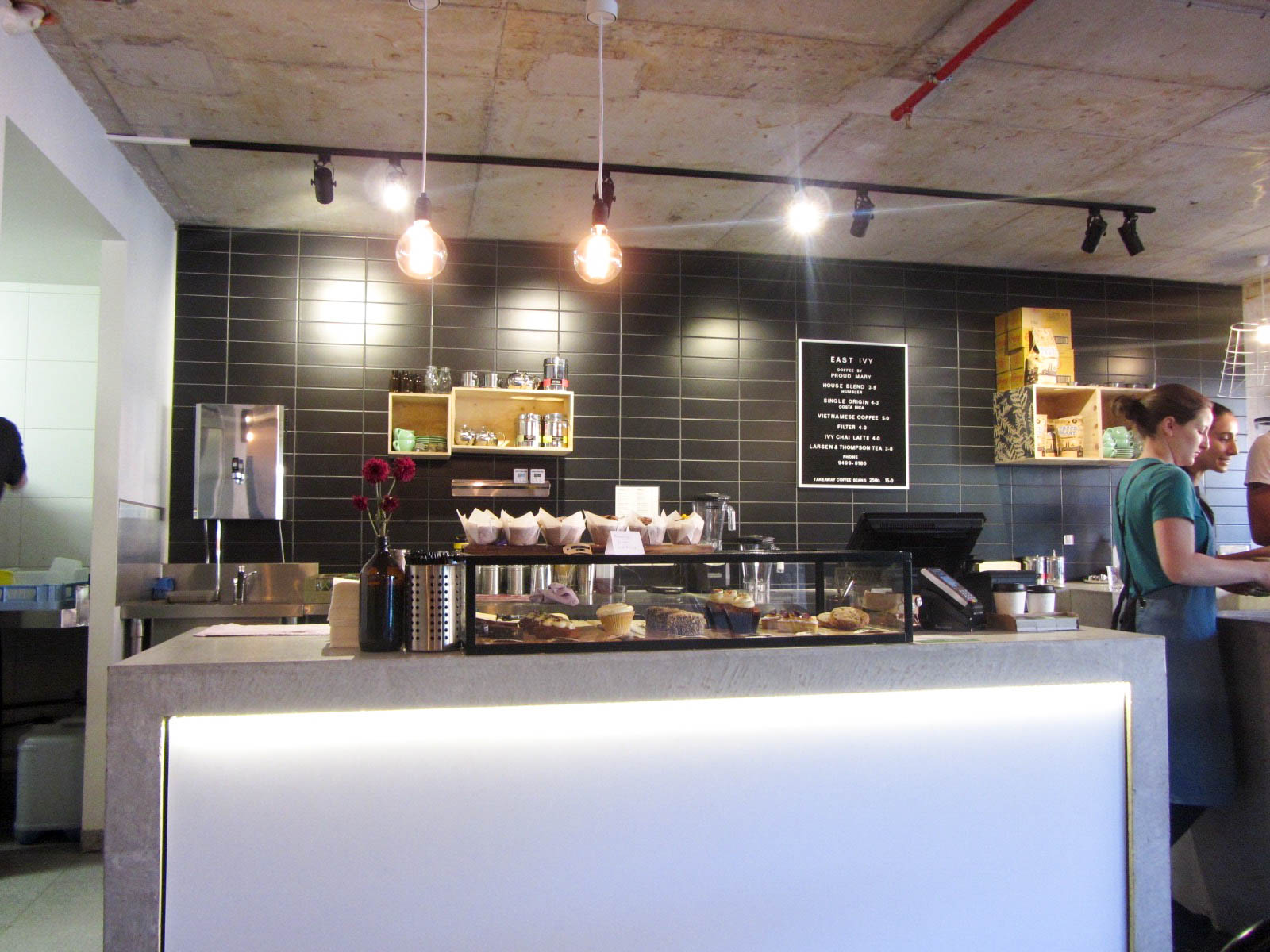 east ivy counter