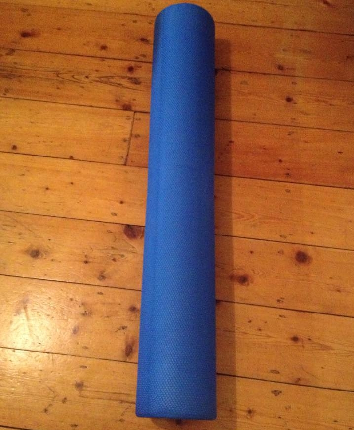The foam roller - anecessary evil for every runner