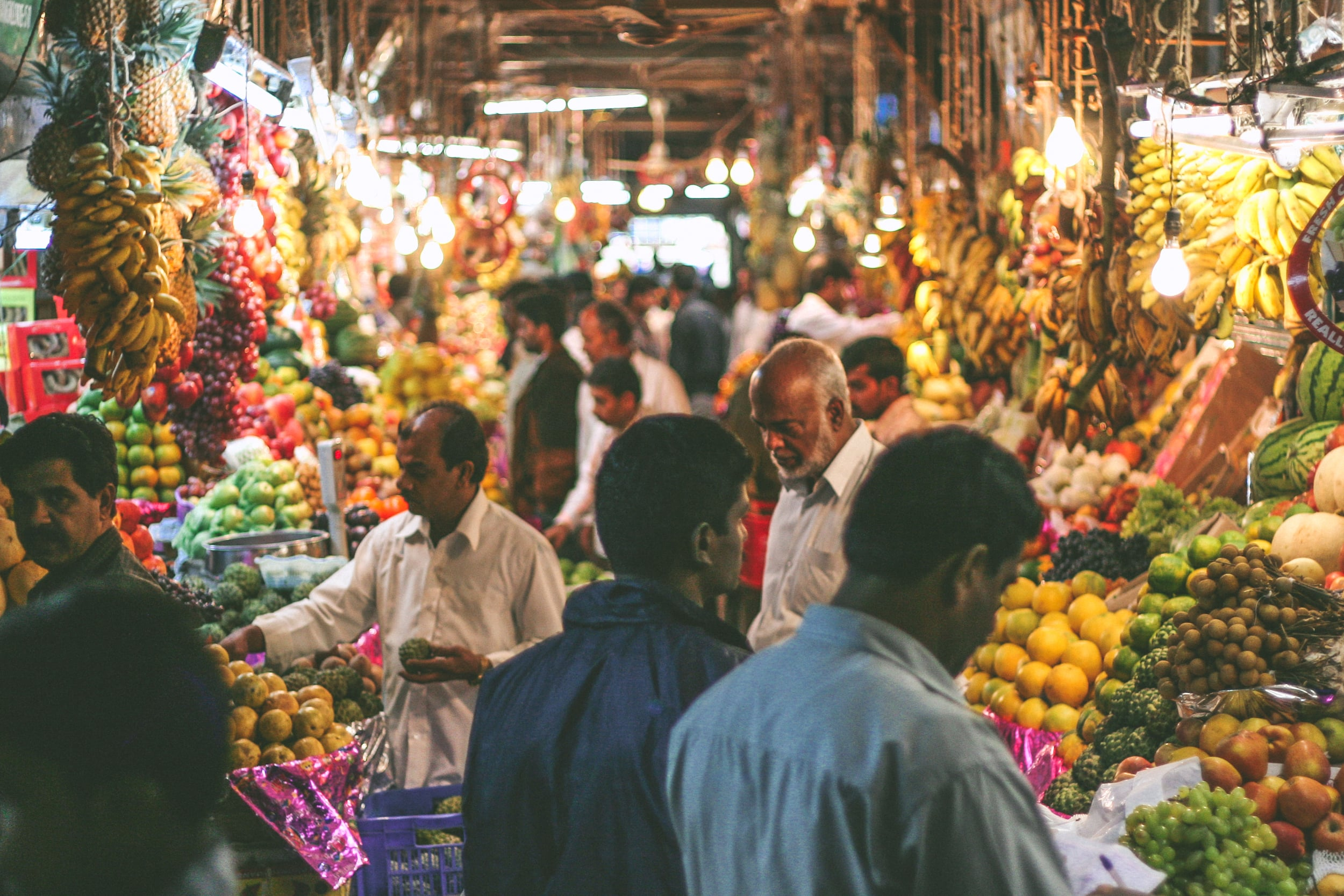 You never feel alone in a market. You will never go home empty handed from these markets. An overdose of sounds scents and sights. But these markets will toy at you, have you going back for more.