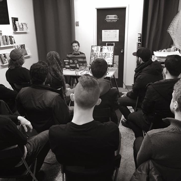 ARTIST TALKS + MEETUPS -