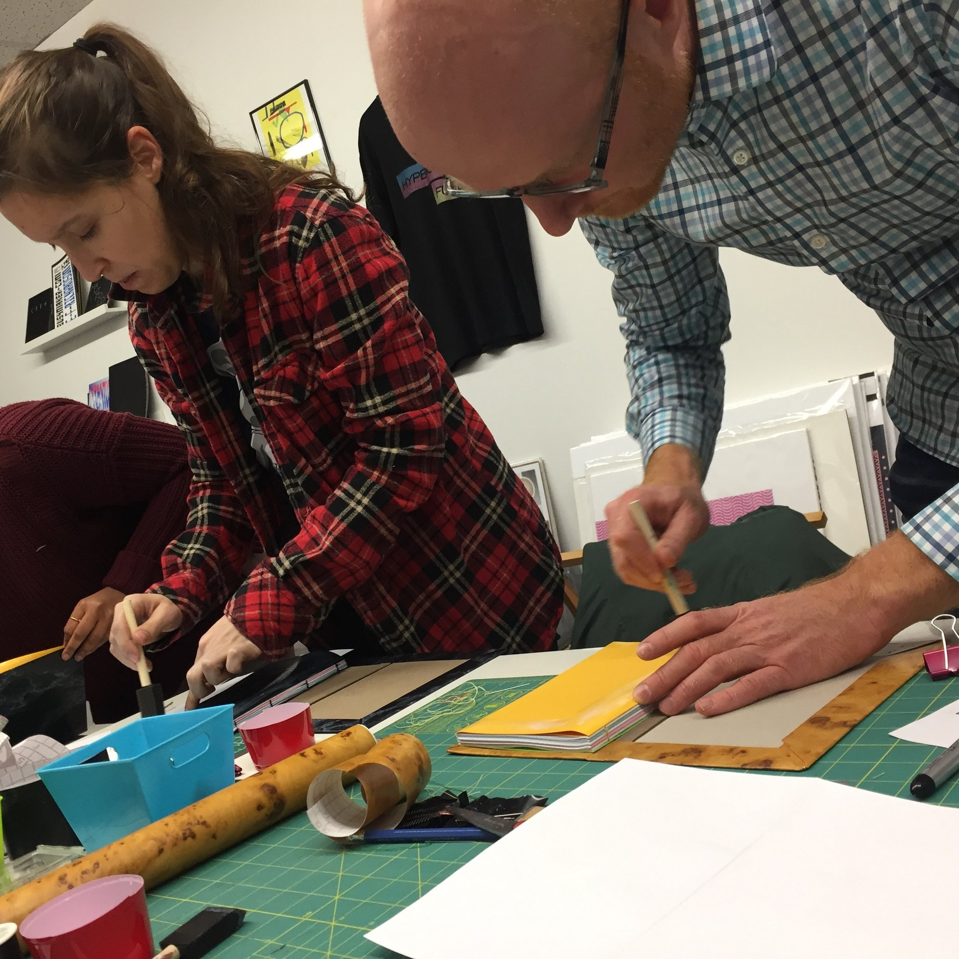 Make Your Own Notebook - Learn the art of simple bookbinding and create your very own notebook. Keep them for yourself or give away as gifts. A great introduction to the bookbinding process.
