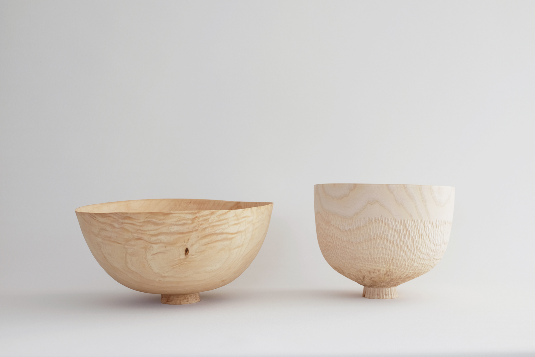 Ash Offering Bowls  | green ash wood, 2016