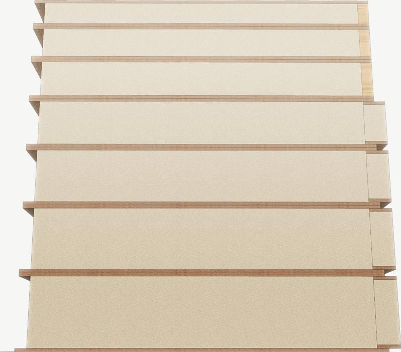 Kingspan TEK panelen in zeven verschillende diktes van 100mm tot 250mm en lengtes tot maar liefst 6 meter