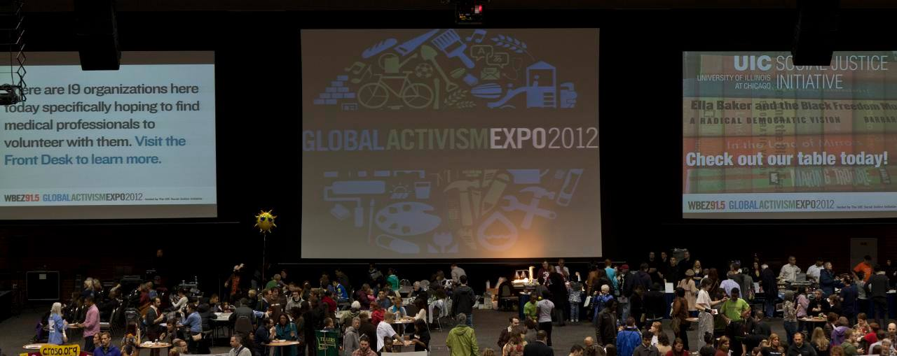 Global Activism Expo - (six annual events)Average attendance: 6,000