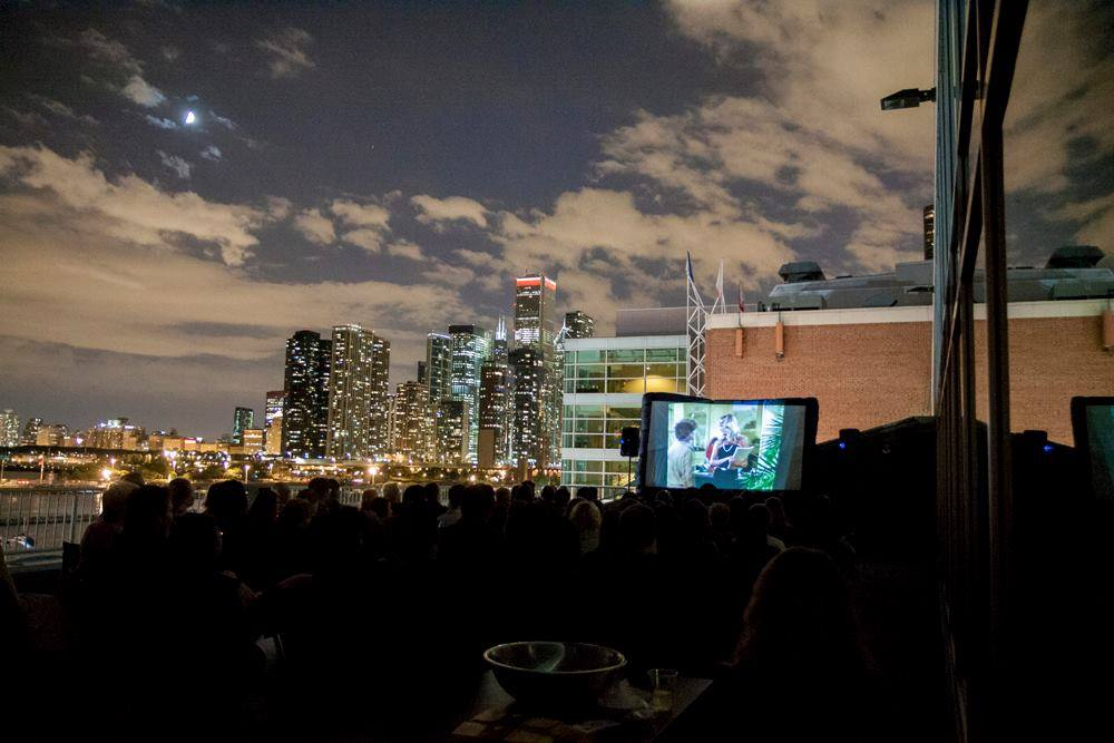 MOVIES on the Terrace - A series of viewings of Chicago-centric films on the terrace of WBEZ 91.5 FM at Navy PierAverage Audience: 120