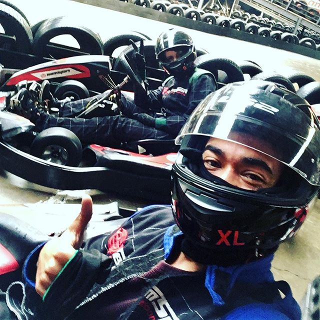 Go Karting! #sundayfunday #weekend #fun #funtimes #bae #sunday #gokart #london #dayout #trysomethingnew