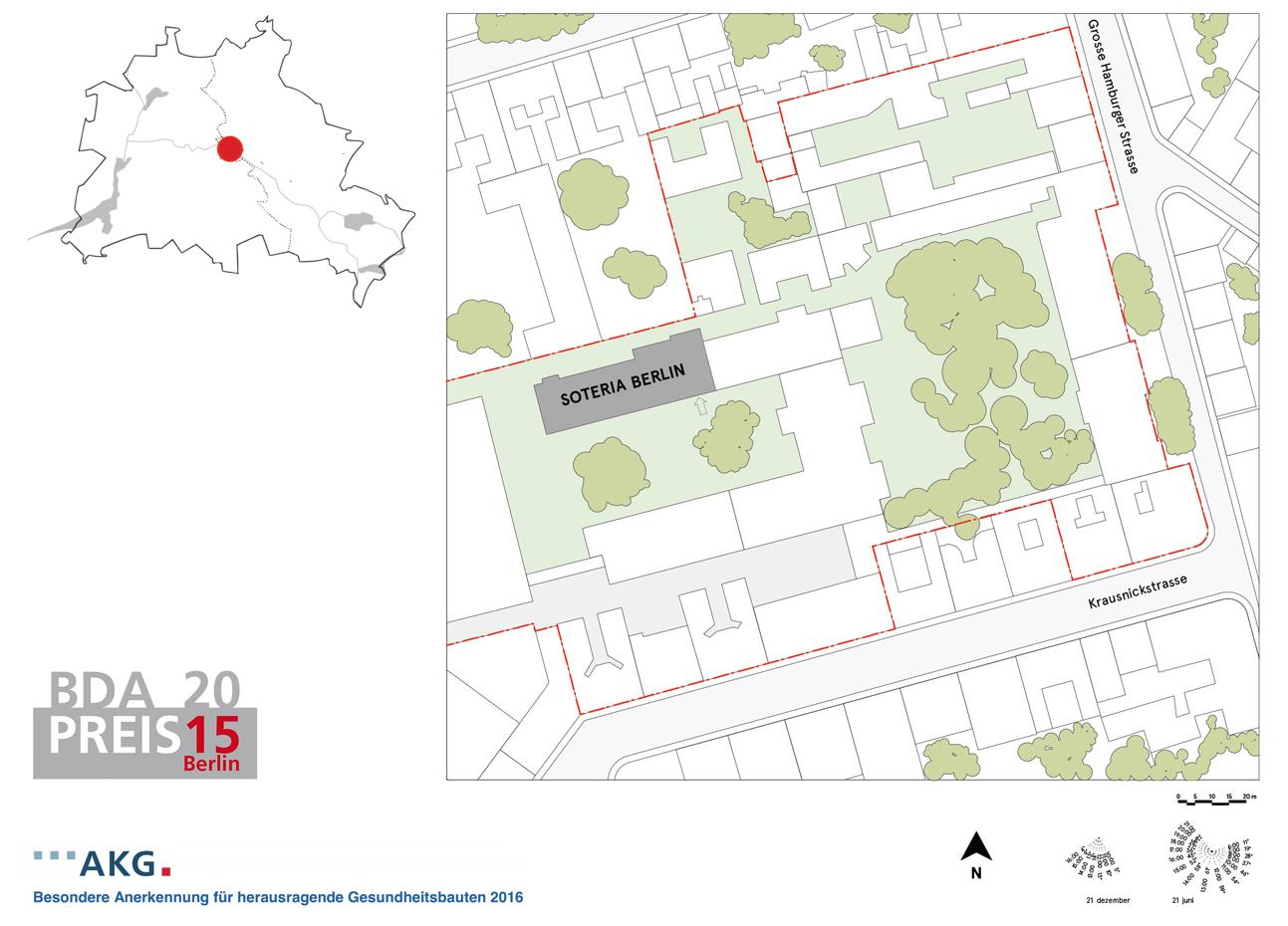 SOTERIA BERLIN - LOCATION / DATA