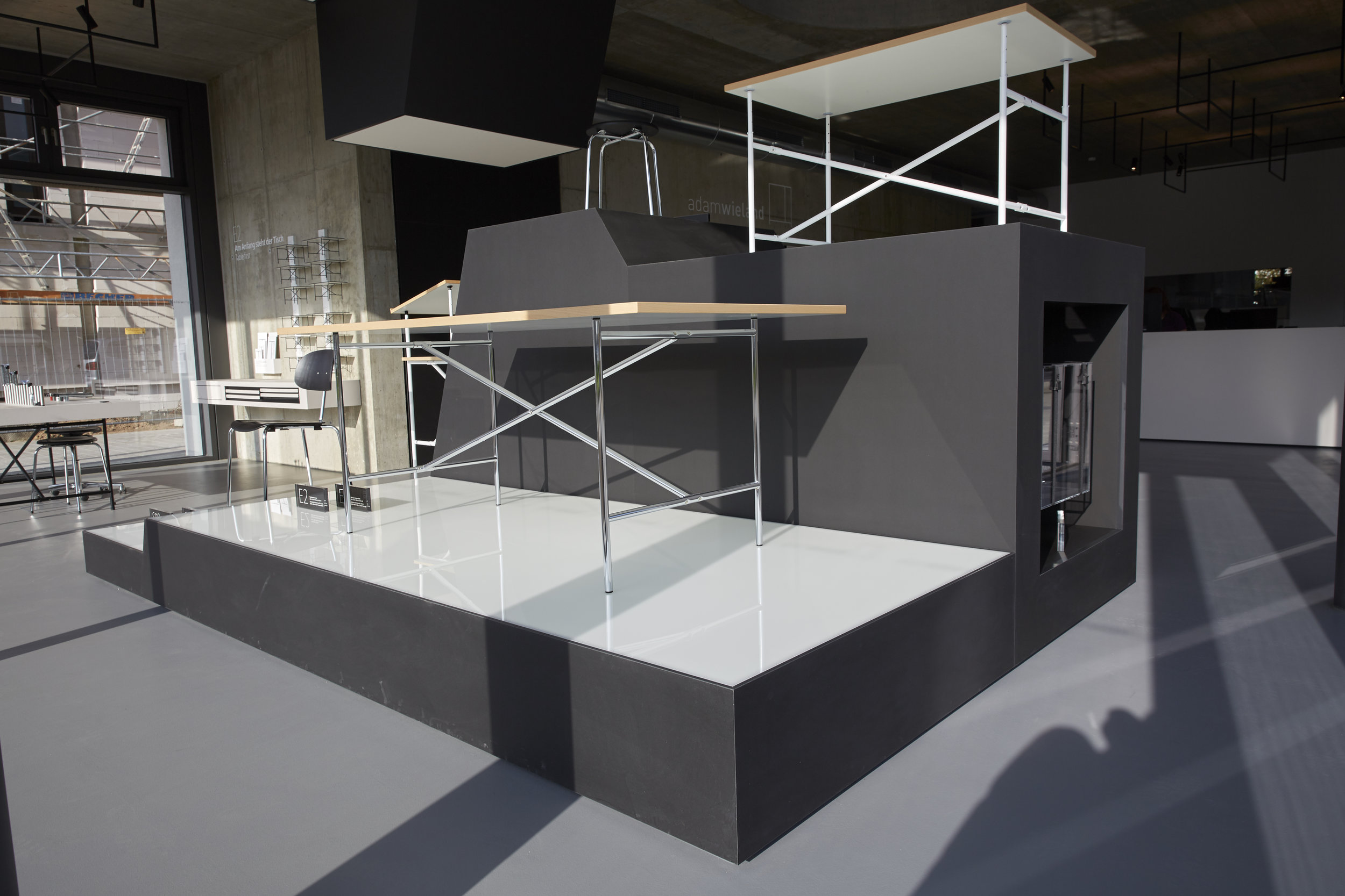 The E2 Table on Exhibit