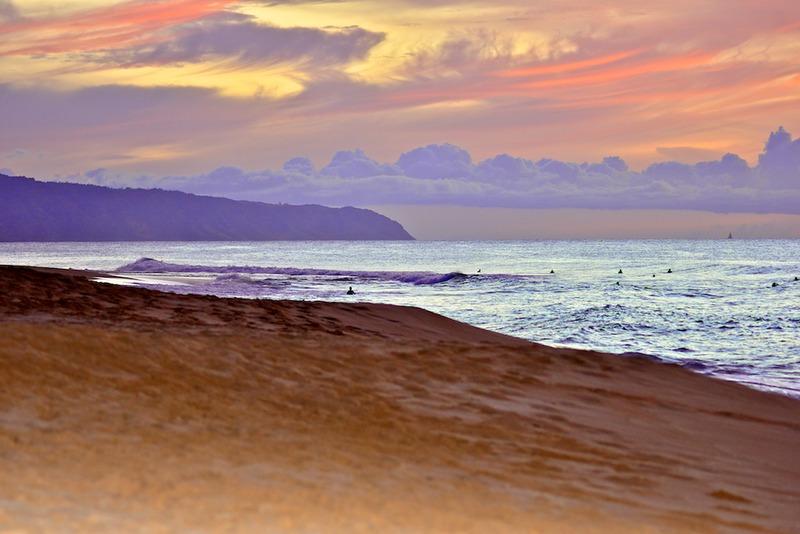 Beach in Oahu, Hawaii