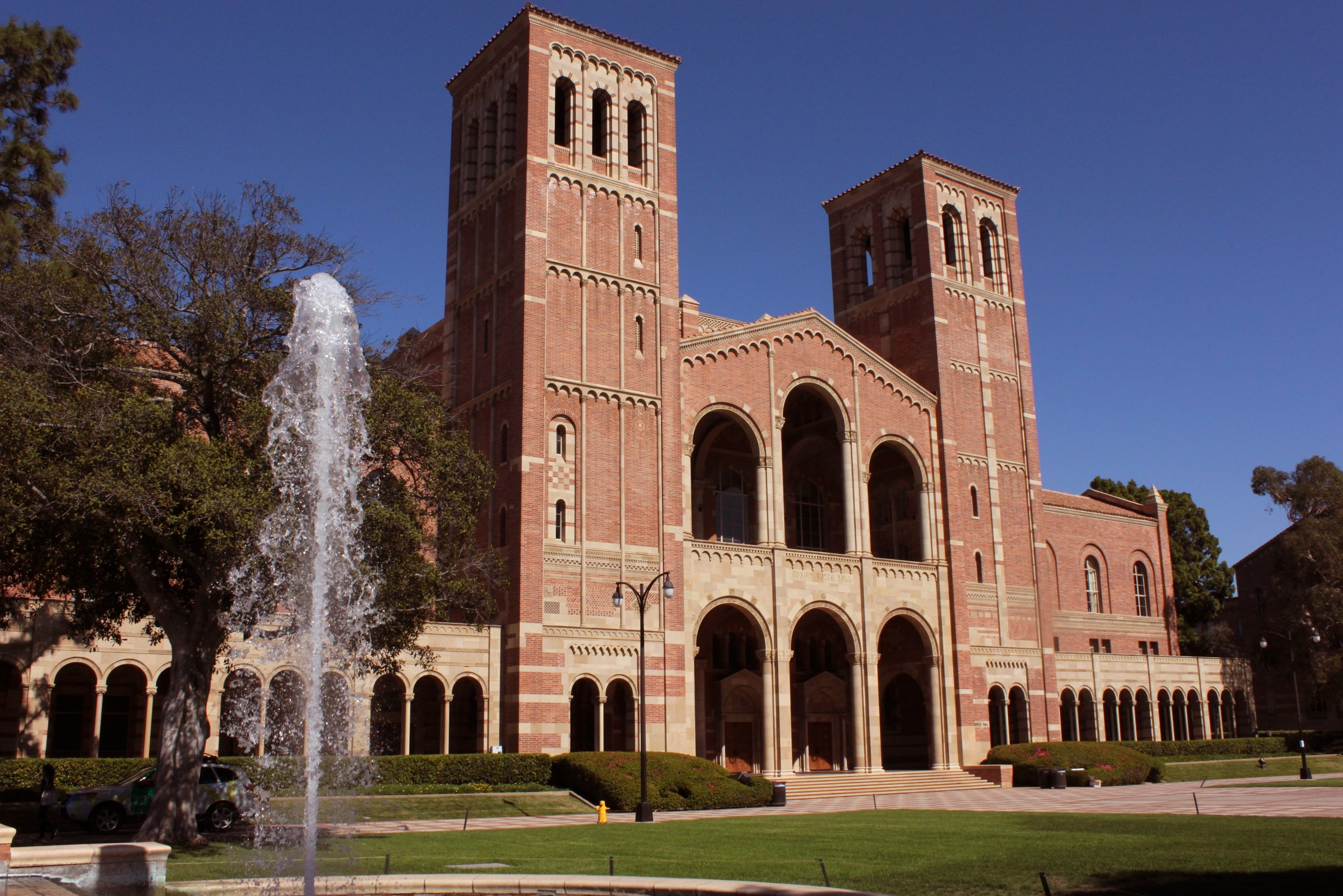 Royce Hall, UCLA. Photo courtesy of Prayitno/Creative Commons.