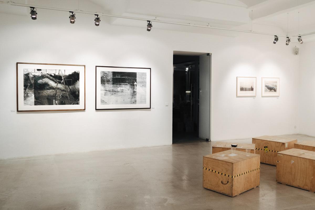 exhibition view by Gerd Schneider