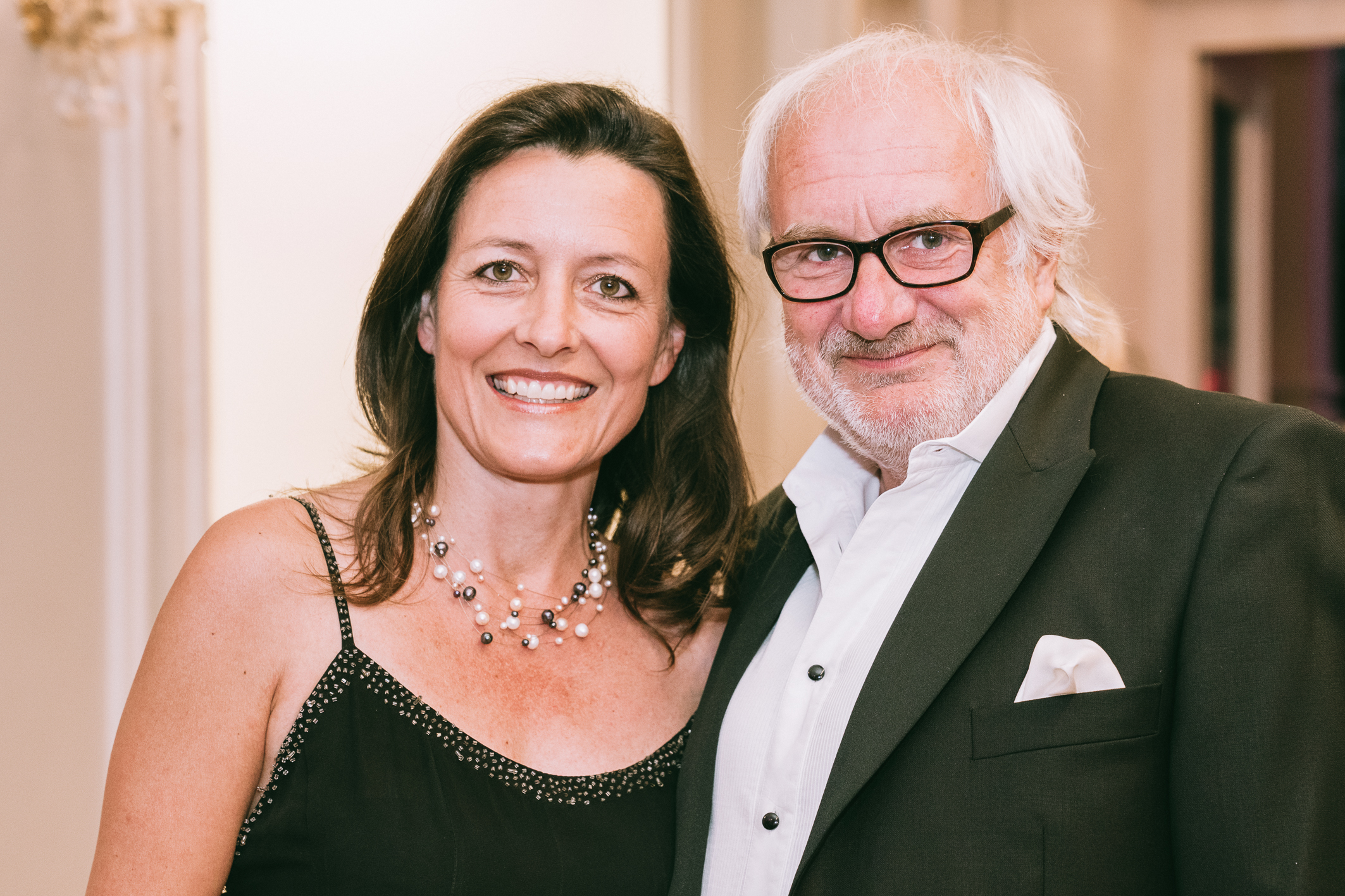 Michael Schottenberg with his wife